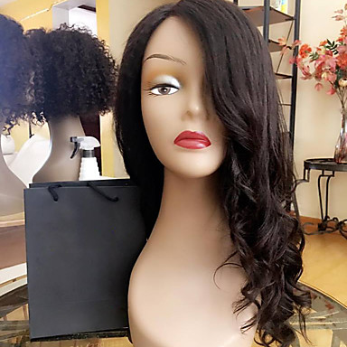 New Style Lace Front Human Hair Wigs Body Wave for Black Woman 130% Density Brazilian Virgin Hair Glueless Lace Wig with Baby Hair