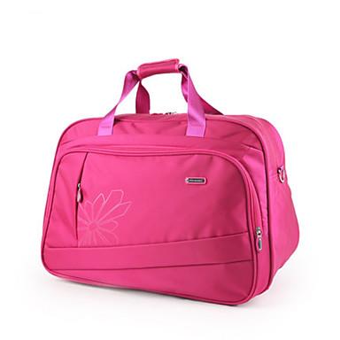 Unisex Bags All Seasons Oxford Cloth Travel Bag for Casual Sports Outdoor Black Dark Blue Purple Fuchsia