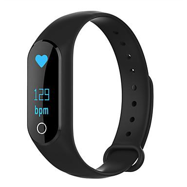 Pulseira inteligente M6S for iOS / Android Tela de toque / Monitor de Batimento Cardíaco / Impermeável Monitor de Atividade / Monitor de Sono / Relogio Despertador / Calorias Queimadas / Pedômetros