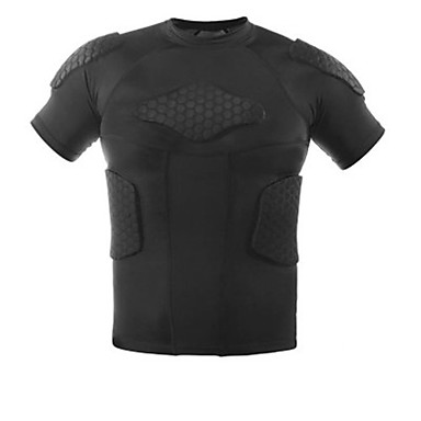 Men's Running T-Shirt Short Sleeves Quick Dry Stretchy Sweatshirt Compression Clothing Tank Top for Exercise & Fitness Leisure Sports