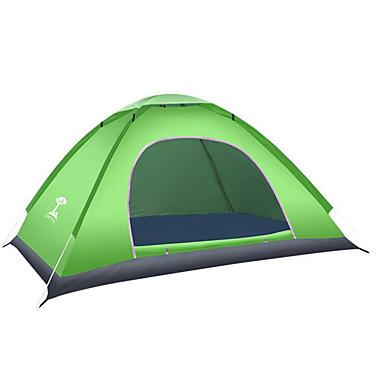 رخيصةأون مفارش و خيم و كانوبي-2 الأشخاص خيمة الكاميرا في الهواء الطلق مقاوم للماء دافئ طبقة واحدة أوتوماتيكي القبة خيمة التخييم إلى أكسفورد
