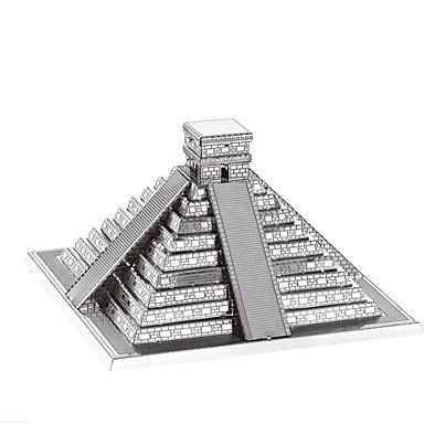 Quebra-Cabeças 3D Quebra-Cabeça Quebra-Cabeças de Metal Brinquedos de Montar Rectângular Torre Construções Famosas Arquitetura 3D Torre