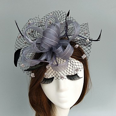 Flax / Net Fascinators / Hats / Birdcage Veils with 1 Wedding / Special Occasion Headpiece