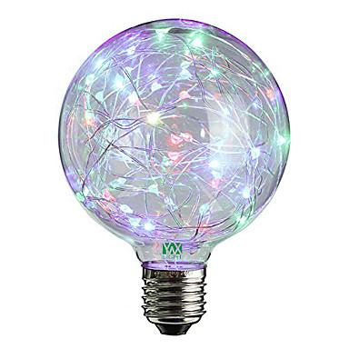 YWXLIGHT® 2W 100-200lm E27 LED Globe Bulbs 25 LED Beads Dip LED Decorative Warm White RGB 85-265V