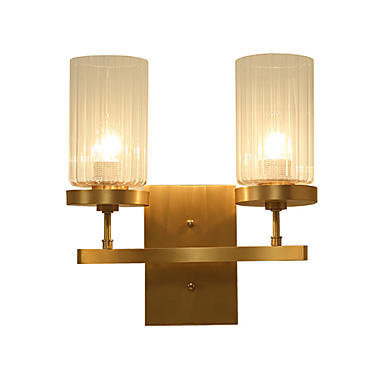 Tiffany Simple Country Traditional / Classic Wall Lamps & Sconces For Metal Wall Light 110-120V 220-240V 5W