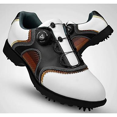 Golfkengät Miesten Golf Pehmeä Mukava Automaattinen Urheilu Urheilu ja ulkoilu Suoritus Harjoittelu Vapaa-ajan urheilu Tateellinen tyyli