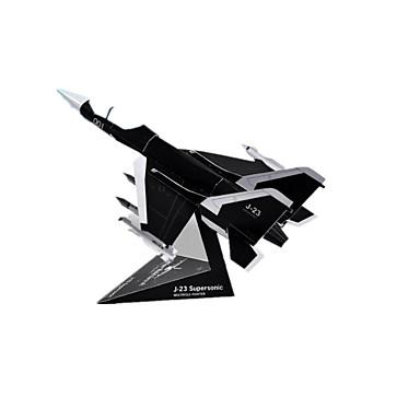 Quebra-Cabeças 3D Maquetes de Papel Artesanato de Papel Brinquedos de Montar Quadrada Aeronave 3D Simulação Faça Você Mesmo Cartão de