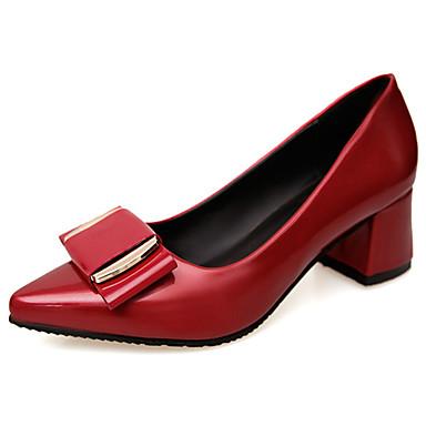 Naisten Kengät Kumi Kesä Comfort Sandaalit Kävely Block Heel Pyöreä kärkinen varten ulko- Musta Harmaa Punainen