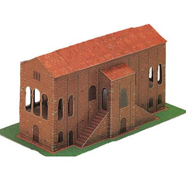 Quebra-Cabeças 3D Artesanato de Papel Construções Famosas Arquitetura Simulação Faça Você Mesmo Cartão de Papel Duro Clássico Crianças