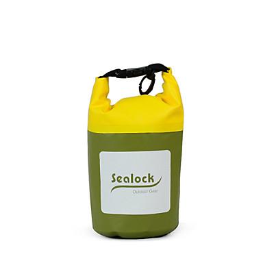 Sealock 2 L Waterproof Dry Bag Dry Bag Waterproof Durable for Swimming Diving/Boating Outdoor