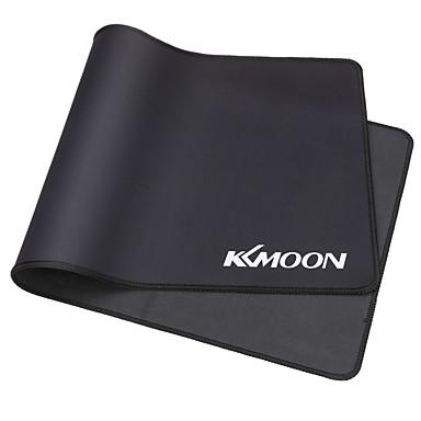 Kkmoon 600 * 300 * 3 milímetros de tamanho grande, preto, preto, estendido, resistente à água, antiderrapante, borracha, jogo de