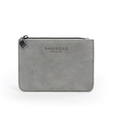 Unisex Bags All Seasons Other Leather Type Card & ID Holder for Casual Dark Gray