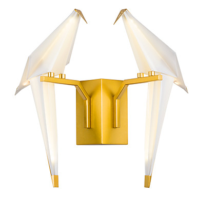 Tiffany Simple Traditional/Classic Country Wall Lamps & Sconces For Metal Wall Light 110-120V 220-240V 8W