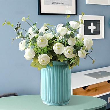 Művirágok 1 Ág Kortárs / Modern Növények Asztali virág