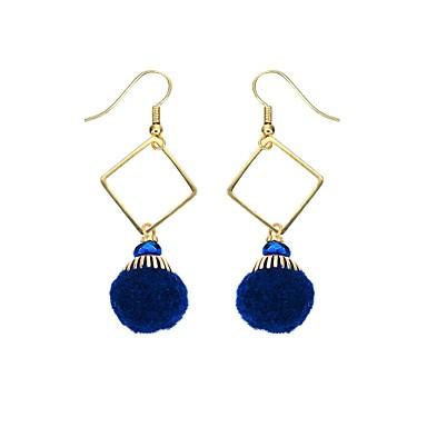Női Bohém Arannyal bevont Függők - Vintage / Bohém Kék Fülbevaló Kompatibilitás Ajándék / Napi / Hétköznapi