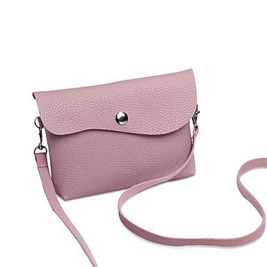 Women's Bags PU Crossbody Bag for Wedding / Event / Party / Sports Gray / Almond / Coffee