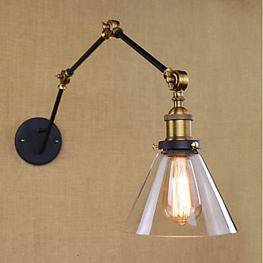 Egyszerű Vintage Retro Ország Swing kar fények Kompatibilitás Fém falikar 110-120 V 220-240 V 40W