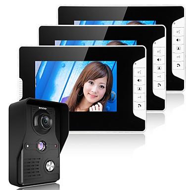 MOUNTAINONE 7 Inch Video Door Phone Doorbell Intercom System Kit 1-Camera 2- Monitors Night Vision 6184639 2018 \u2013 $174.99  sc 1 st  LightInTheBox & MOUNTAINONE 7 Inch Video Door Phone Doorbell Intercom System Kit 1 ...