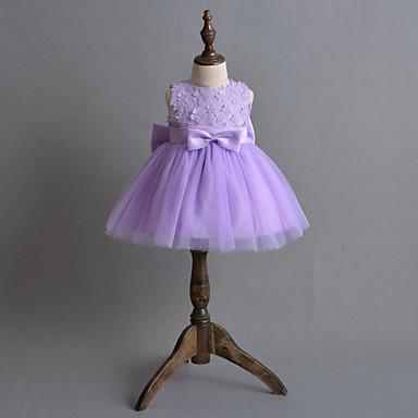 Baby Mädchen Blumig Blume Ärmellos Kleid