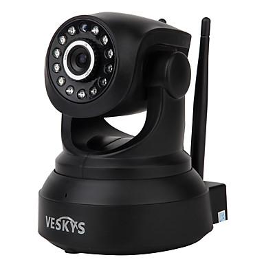veskys® 720 وعاء هد واي فاي كاميرا إب ث / 1.0mp الهاتف الذكي رصد عن دعم لاسلكي 64 جيجابايت تف بطاقة