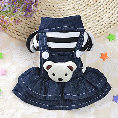Hund Kleider Hundekleidung Lässig/Alltäglich Streifen Kostüm Für Haustiere