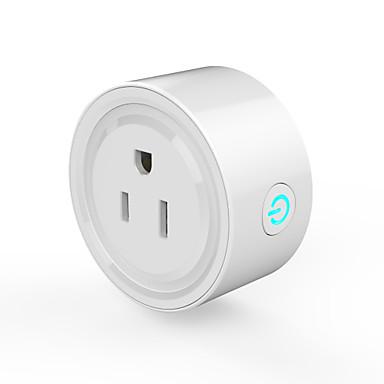 abordables Prise Connectée-WAZA Prise intelligente pour Nouveaux Ustensiles de Cuisine / Salon / Toilettes Contrôle de l'APP / Chronomètre / Interrupteur tactile Wi-Fi 3G 100-240 V