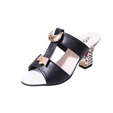 Damen Schuhe PU Sommer Komfort Sandalen Für Normal Schwarz Rot