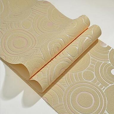 Muster Haus Dekoration Stilvoll Wandverkleidung, Other Stoff Klebstoff erforderlich Tapete, Zimmerwandbespannung