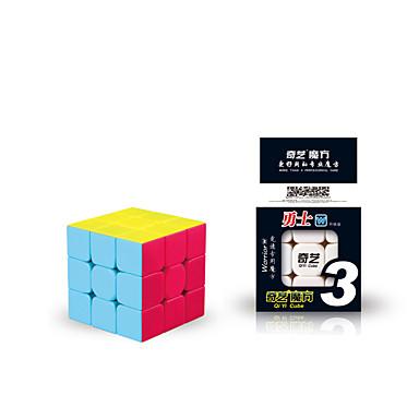 Rubik kocka QI YI Warrior 3*3*3 Sima Speed Cube Rubik-kocka Puzzle Cube Gyermek Felnőttek Játékok Fiú Lány Ajándék