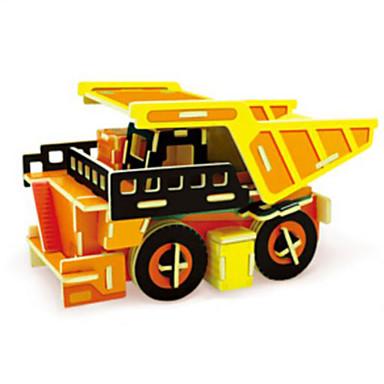 Játékautók 3D építőjátékok Fejtörő Munkagép Fa Munkagépek Gyermek Uniszex Ajándék