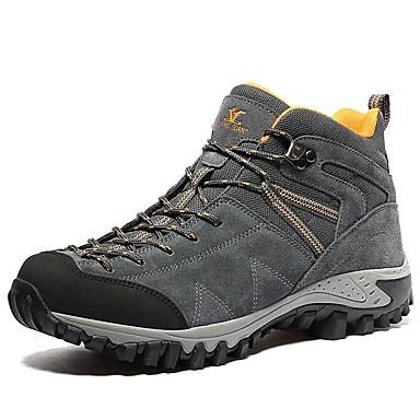 Férfi cipő Fordított bőr Tél Ősz Kényelmes Csizmák Túrázó Bokacsizmák mert Sport Hétköznapi Work & Safety Hivatal és karrier Szabadtéri