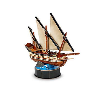 3D építőjátékok Fejtörő Papírmodell Hajó Kalózhajó Kalóz Lakberendezési cikkek DIY EPS+EPU Gyermek Uniszex Ajándék