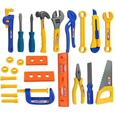أدوات البناء طفل