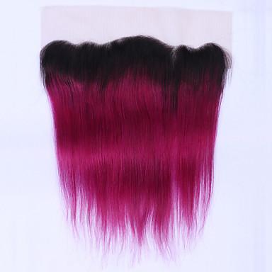 Beata Hair Egyenes Klasszikus 4x13 lezárása Svájci csipke Emberi haj Ingyenes rész Napi