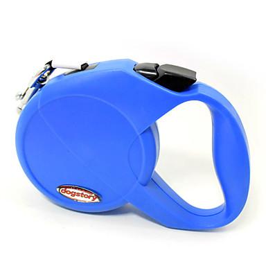 Katze Hund Hands Free Leine Regolabile / Einziehbar Sicherheit Automatisch Traning Laufen 210D Nylon Orange Purpur Rot Blau Rosa