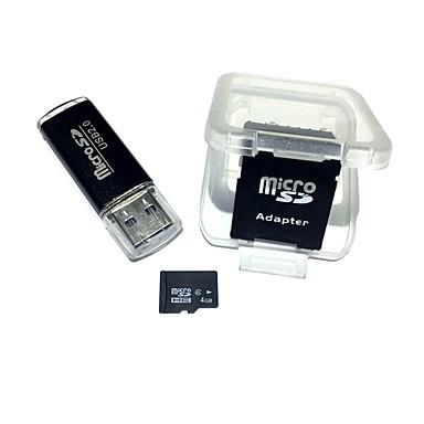 Abile Formiche 4gb Micro Sd Card Scheda Di Memoria Tf Card Con Lettore Di Schede Usb E Adattatore Sdhc Sd #05957264 Possedere Sapori Cinesi