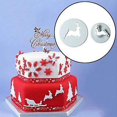 sütőformát Állat Candy Csokoládé Palacsinta Torta Műanyag Környezetbarát Karácsony Jó minőség