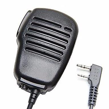 رينبروف 2-بين الكتف المتحدث عن ميكروفون ميكروفون بت ل كينوود ووكسون بوكسينغ بوفنغ اتجاهين راديو 2pin