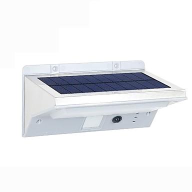 Fh0609-pir 21led napkollektoros fények napelem emberi test érzékelő fali lámpa otthoni infravörös érzékelő erkély kültéri vezetett