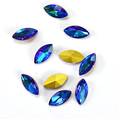1 pcs Nail DIY Tools Nail Jewelry Rhinestones Lovely / 3D nail art Manicure Pedicure Daily Glitters / Crystal / Artistic