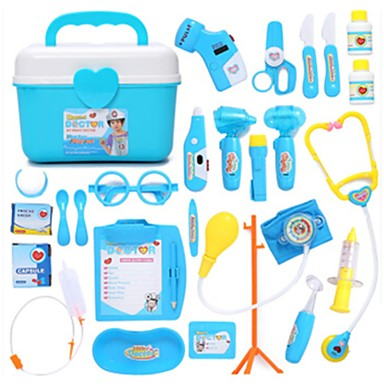 orvosi kitek / Szerepjátékok / Mesterségek, szerepjátékok kellékei Orvosi táska Műanyagok Gyermek Ajándék