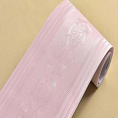 Muster Tapete Für Privatanwender Stilvoll Wandverkleidung , PVC/Vinyl Stoff Selbstklebend Rand , Zimmerwandbespannung