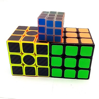 Rubik's Cube Luminous Glow Cube 3*3*3 Smooth Speed Cube Magic Cube Stress Reliever Puzzle Cube Matte Sticker Glow in the Dark Fluorescent