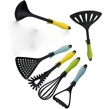 6 Stück Kochwerkzeug-Sets For Für Kochutensilien Kunststoff Heimwerken