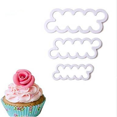 Bakeware tools Plastics Cake Dessert Decorators 1pc