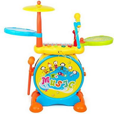 ألعاب تربوية آلات موسقية آلعاب ألعاب لهو بيانو أدوات الموسيقى مجموعة طبول كرتون نجمة كلاسيكي قطع للأطفال صبيان للجنسين هدية