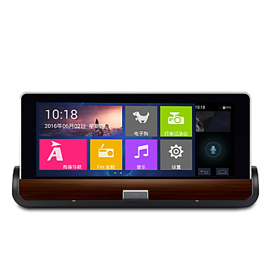 voordelige Automatisch Electronica-h99 dual lens android 7 inch centrale console navigator