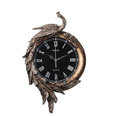الحديثة / المعاصرة تقليدي زهري غير رسمي رجعي فراشةButterfly Theme حيوان ساعة الحائط,حيوان راتينج داخلي ساعة حائط
