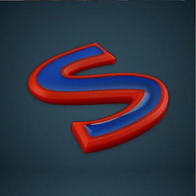 شعار السيارات s القياسية شعار إيبل ل إنفينيتي مجموعة الأحمر