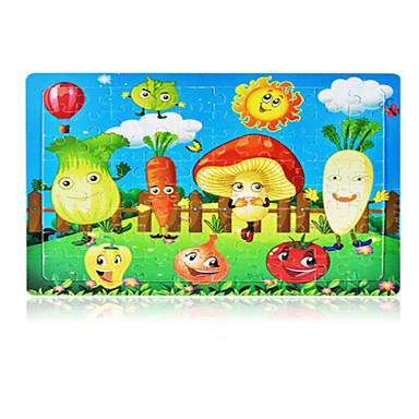 Holzpuzzle Anderen Apple Tomate Sonne Hölzern Anime Unisex Geschenk